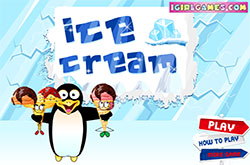 Ice cream penguin