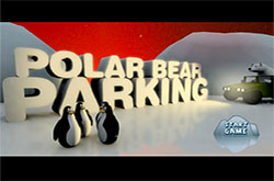 Polar bear parking
