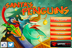 Santas penguins